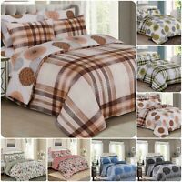 Luxury and Stylish 4pcs Bedding Set Quilt / Duvet Cover Fitted Sheet Pillowcases