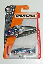 Matchbox MBX LAMBORGHINI GALLARDO LP 560-4 POLIZIA POLICE CAR 92/125