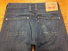 LEVIS 514 SLIM STRAIGHT LOW RISE MEN'S JEANS SIZE 29 x 29 Tag 30 x 30 EUC R40