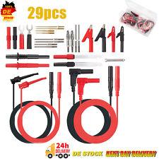 29x Multimeter-kabel Prüfkabel Set für Multimeter&Zangenmessgerät-Testinstrument