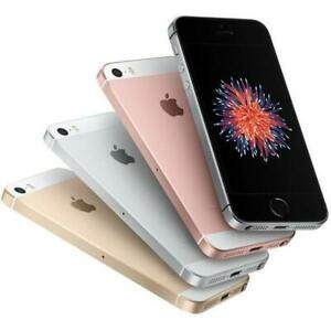 Apple iPhone SE - UNLOCKED - 16/32/64/128GB - ALL COLOURS - Good Condition