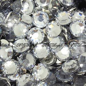 1000 x Resin & Jelly Rhinestones 2-6mm Flat Back Diamante Nail Art Craft Gems