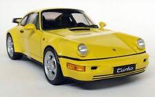 Nex 1/18 Scale - Porsche 911 964 Turbo Speed Yellow Diecast model car