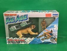 1990 Dino-Riders Ice Age SABRE TOOTH TIGER with KUB Tyco NOS Factory Sealed