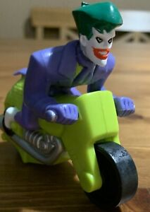 Burger King Batman Beyond Joker on Motorcycle Figure  2000