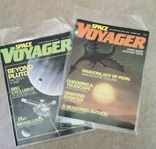 Space Voyager - 2 x Vintage Magazines - 1985