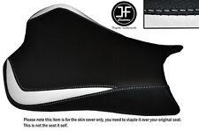 DESIGN 3 WHITE & BLACK VINYL CUSTOM FOR KAWASAKI NINJA ZX6R 636 09-15 SEAT COVER