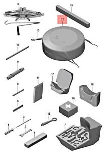 Genuine PORSCHE 718 Boxster Cayman Bag For Emergency Wheel 982857927