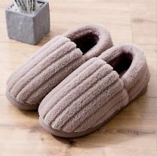 Women's Comfort Memory Foam Bootie Slippers Faux Fur Lined Indoor Outdoor House