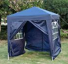 New Garden Heavy Duty Pop Up Gazebo Marquee Party Tent Wedding Canopy 4 Sizes