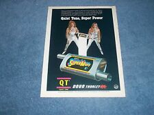 1975 Doug Thorley QT SuperMuff Exhaust Muffler Vintage Ad Quiet Tone