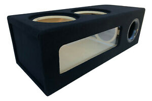 "Ported Sub Box Enclosure for 2 12"" Sundown X-12 X12 Subs ~ BIRCH PLYWOOD~"