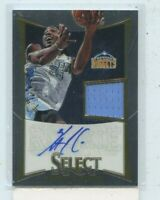 KENNETH FARIED 2012-13 Panini Select Rookie Jersey Auto Autograph #D /249