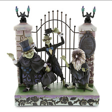 NEW Disney Parks Haunted Mansion Hitchhiking Ghosts Jim Shore Figurine w/ Box