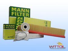 MANN FILTER INSPEKTIONSPAKET FILTER-SATZ ÖLFILTER+LUFTFILTER+INNENRAUMFILTER