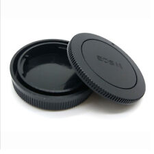Camera Body Front + Rear Lens Cap Cover Kit For Canon EOS M EF-M Mount M M2