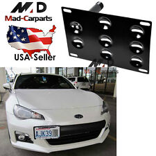 Front Bumper Tow Hook License Plate Mounting Holder For 2013-2016 Subaru BRZ
