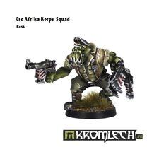 Ork Afrika Korps Squad Leader -Kromlech Power Klaw Nob Zagstruk Kommandos