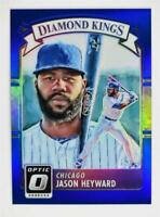 2016 Donruss Optic Blue #5 Jason Heyward DK /149 - NM-MT