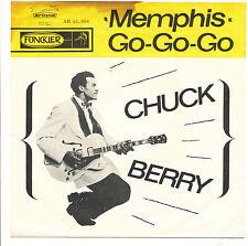 """7"""" - Chuck Berry - Memphis / Go-Go-Go - Funckler AR 45.088 - NL 1963"""