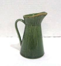 "Gibson Elite China Green Bamboo Pattern Pitcher 5-3/4"" Replacement Dinnerware"