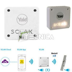 Receptor Bluetooth YALE Sclak Con Smartphone App X Gestión Cabellos Hotel B&b