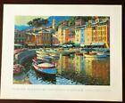 Howard Behrens | Portofino Harbor | Soho Editions Fine Art Print 20 x 16