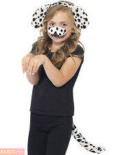 Smiffy S Dalmatian Kit With Ears on Headband Tail and Nose