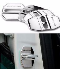 AMG Stainless steel Door Lock Striker Cover for Benz B180 C180 C200 E260 C350