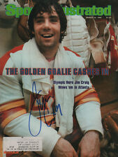 Jim Craig Calgary Flames Signed Sports Illustrated 3/10/80 Coa!
