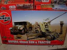 AIRFIX 1:76 KIT MONTAGGIO MEZZO MILITARE BOFORS 40mm GUN TRACTOR 02314  serie 2