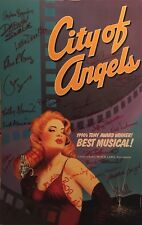 CITY OF ANGELS Signed Broadway Poster Windowcard