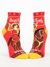 Women's Ankle Socks, Boss Lady, Blue Q, Cotton, One Size, Funny, Novelty, Gift