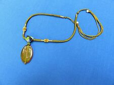 ASIAN ETHNIC JEWELRY GLASS BEAD NECKLACE STATE DEPARTMENT STORE OF MONGOLIA B