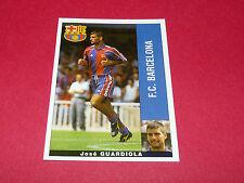 PEP GUARDIOLA CATALUÑA FC BARCELONA PANINI LIGA 95-96 ESPANA 1995-1996 FOOTBALL