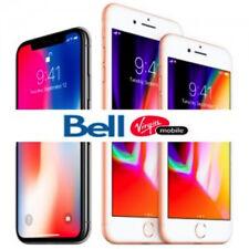 BELL VIRGIN 24 HOUR UNLOCK SERVICE iPHONE 4s 5 5c 5s 6 6s 6+ 6s+ SE 7 7+ 8 8+ X