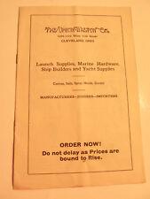 Upson-Walton Co., Marine Supplies Price List