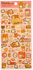 Sanx San-x Cat Fish Rilakkuma Sticker Sheet stickers kawaii Japan Bear
