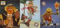 Jim Henson's The Muppets Full 3 Card Tekchrome Chase Card Set from Cardz - New