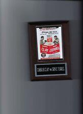 CASSIUS CLAY vs ERNIE TERREL POSTER PLAQUE BOXING PHOTO PLAQUE