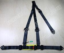 SUNDELY BLACK 3 POINT RACING SEAT BELT HARNESS FOR CAR/TRACK DAY/OFF ROAD BUGGY