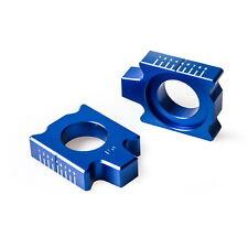 2x Axle Block Chain Adjuster For Yamaha YZ125 YZ250 02-18 YZ WR 250F 450F 02-17