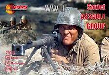 MARS World War II 1/72nd Russian Assault Plastic Soldiers Set 72012 NEW IN BOX!