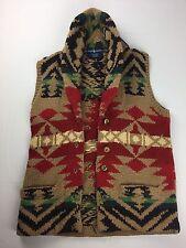 Ralph Lauren Aztec Cardigan Rare Polo Navajo Knit Southwestern
