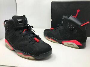 OG 2014 Nike Air Jordan 6 Retro Infrared SZ 13 Bred 384664-023 Rare banned QS