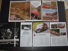 AUSTIN Healey 100/6 LMS192, Porsche piatto QUATTRO MOTORE, VW Scirocco Mk1 JPM719V
