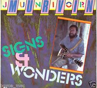 JUNIOR MURVIN-signs & wonders   live & learn LP    (hear)   reggae