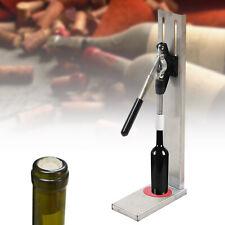 New listing Bottle Stopper Set Manual Wine Bottle Corking w/2 Pom Inserting Corker Tools