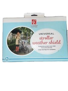 J.L. Childress Universal Baby Stroller Weather Shield Clear Rain Cover