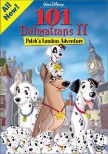 Brand New Disney DVD 101 Dalmatians II - Patch's London Adventure